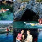 Escursione in Kayak a Bergeggi (Liguria) del 4 Giugno 2015 – Circa 5 Km.
