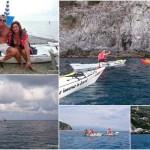 Escursione in Kayak a Bergeggi (Liguria) del 14 Agosto 2015 – Circa 4 Km.