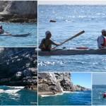 Escursioni in Kayak a Bergeggi (Liguria) del 06 e 07 settembre 2015 – Circa 3,5 Km + 3,5 km