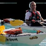 Escursioni introduttive con kayak Sit on Top performanti nell'area Marina protetta dell'Isola di Bergeggi (SV) – Disponibili tutto l'anno
