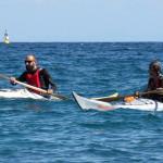 In kayak a Bergeggi
