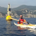 In kayak all'Isola di Bergeggi