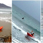 Surf in kayak a Laigueglia del 28 febbraio 2016 – Surfing Kayak in Laigueglia (Liguria) of February, 28, 2016