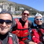 Escursione in kayak a Bergeggi  (Liguria) del 25 Aprile 2016 – Circa 10 Km. Kayak excursion in Bergeggi (Liguria) of April, 25, 2016 – About 10 Km.