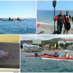 Kayak excursion in Noli (Liguria) of April, 10, 2016 – About 15 Km.