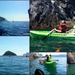 Escursione in kayak a Bergeggi  (Liguria) del 6 Maggio 2016 – Excursion en kayak à Bergeggi du 6 Mai 2016