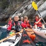 Escursione in kayak a Bergeggi (Liguria) del 19 Giugno 2016 – Circa 6 Km. Kayak excursion in Bergeggi (Liguria) of June, 19, 2016 – About 6 Km.