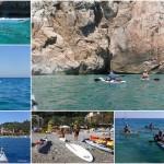 Escursione in Kayak da Varigotti a Noli (Liguria) del 17 Luglio 2016 – Circa 10 Km – Corso Sotter Advanced