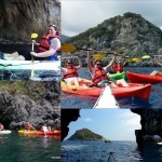 Escursione in kayak a Bergeggi del 29 luglio 2016 – Kayak excursion in Bergeggi on 2016, july 29