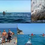 Escursione in kayak a Varigotti e Noli del 30 luglio 2016