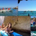 Escursione in canoa a Noli e Varigotti del 14 Agosto 2016