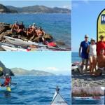 Escursione in canoa da Varigotti a Noli del 21 Agosto 2016 – Kayak excursion from Varigotti to Noli (Liguria) of August, 21, 2016