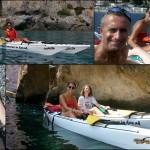 Escursione in canoa a Varigotti e Noli del 3 settembre 2016 – Kayak excursion in Finale Ligure (Liguria) of September, 3, 2016