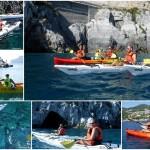 Escursione in canoa a Bergeggi del 25 Settembre 2016