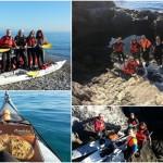 """Brind The Island 2016″ in kayak a Bergeggi"
