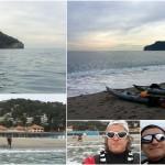 Escursione a Spotorno e Bergeggi del 7 Febbraio 2017 – Circa 5 Km. Kayak excursion in Spotorno and Bergeggi (Liguria) of February, 07, 2017 – About 5 Km