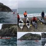 Escursione in kayak all'Isola di Bergeggi del 19 marzo 2017 – Circa 4 Km
