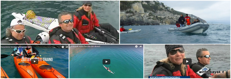 Isola di Bergeggi in kayak – Intervista su Rai 3