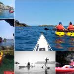 Doppia escursione a Bergeggi del 27 Maggio 2017 Double kayak excursion in Bergeggi (Liguria) of May, 27, 2017