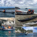 Escursione in canoa a Bergeggi e Spotorno del 07 Maggio 2017