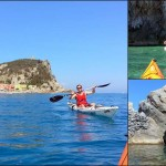"""Corso di kayak da mare """"Sotter Advanced"""" a Varigotti (SV) del 10 giugno 2017"""
