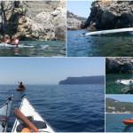 """Corso di kayak da mare """"CANDIDATE"""" a Bergeggi (SV)"""
