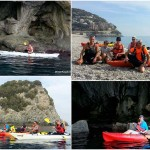 Escursioni promozionali in kayak all'Isola di Bergeggi  del 26 ottobre 2017 – Circa 6 Km.