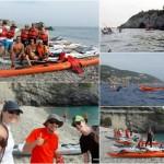 Escursione promozionale in kayak all'Isola di Bergeggi e Spotorno del 28 ottobre 2017 – Circa 8 Km.