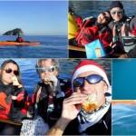 In Kayak a Bergeggi e Spotorno (Liguria) il 23 Dicembre 2017