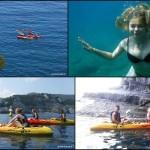 Isola di Bergeggi e snorkeling nelle grotte, escursioni del 18, 19 e 22 luglio 2018
