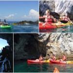 Isola di Bergeggi, grotte e falesie, escursioni del 7, 8 e 10 luglio 2018