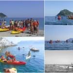 Escursione in canoa a Spotorno (Liguria) del 01 luglio 2018