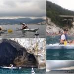 Corso per Kayak da mare a Spotorno del 21 luglio 2019.